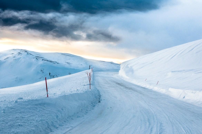 Winter road trip in Norway
