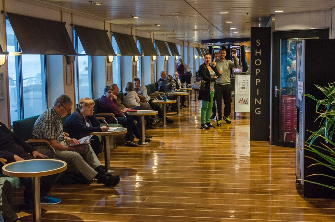Ferry from Iceland to Denmark