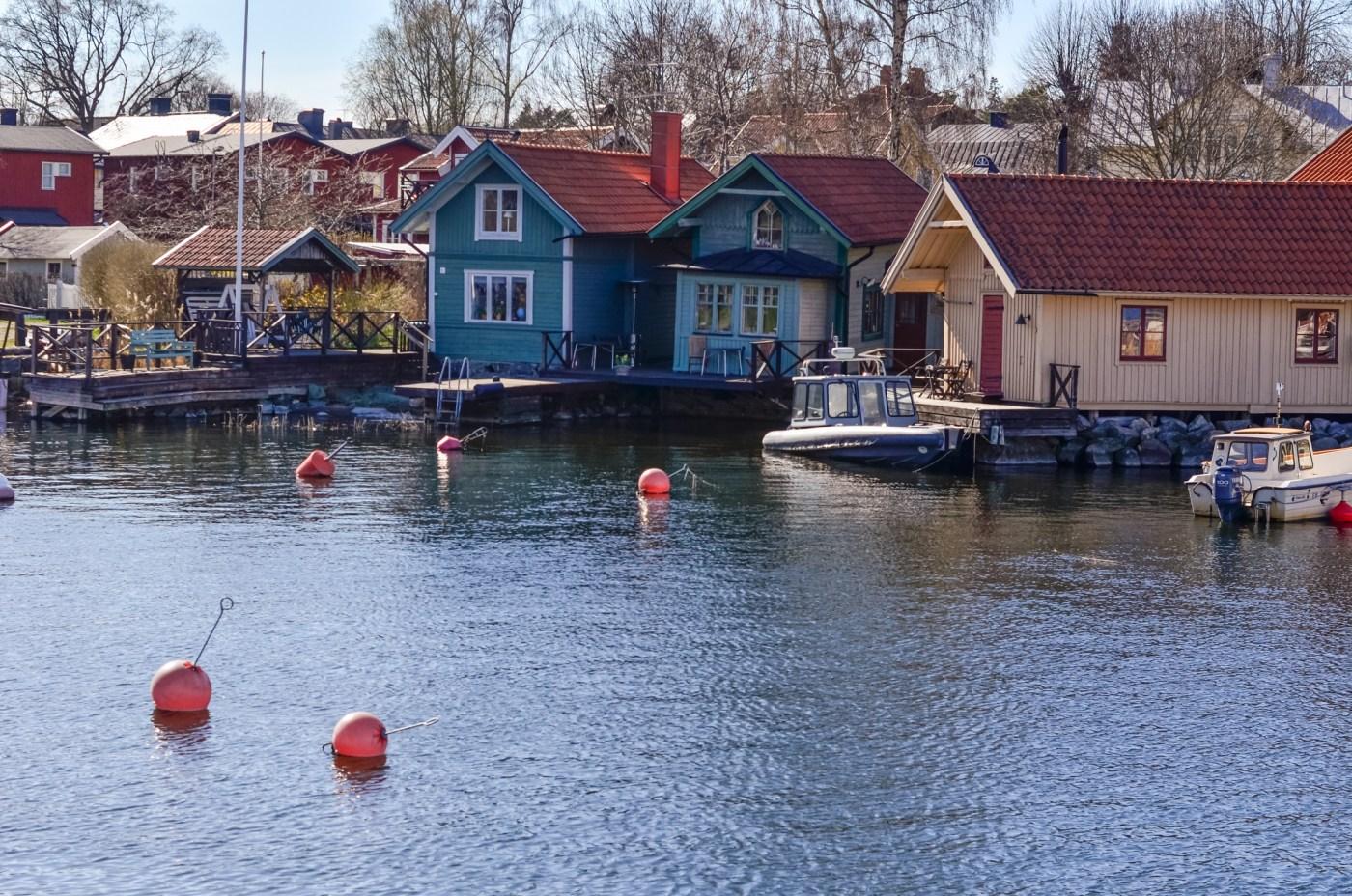 Vaxholm harbor