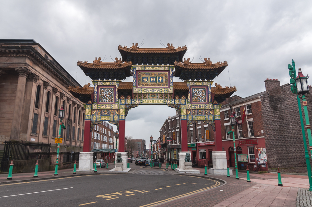 Liverpool, China town