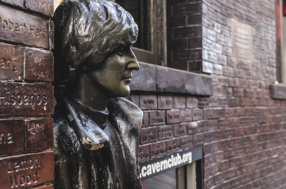 Liverpool, the Beatles. Mathew street