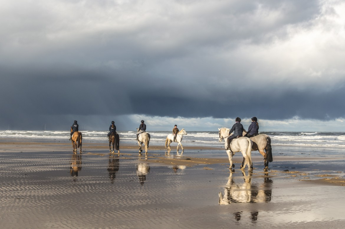 Horseriding in Saltburn-by-the-Sea