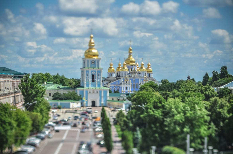 Photo Walk in Tiny Kyiv: Tilt Shift Capital