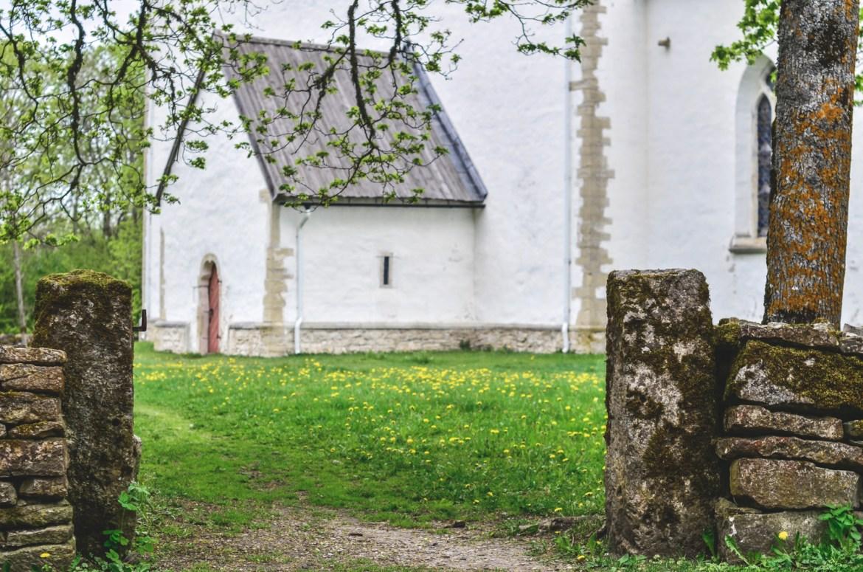 Muhu church, Estonian islands