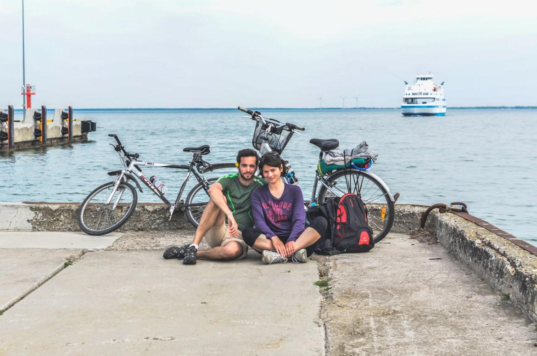 Cycling in Estonian islands