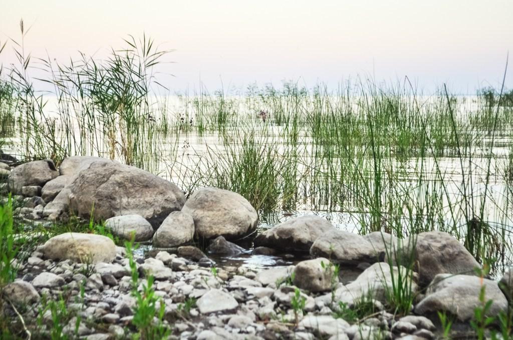Tartu, lake Peipus, Estonia