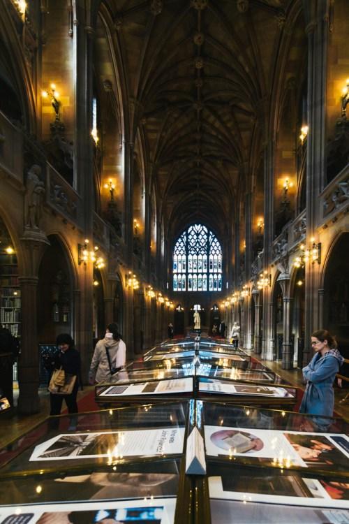 John Rylands Library, Manchester, England