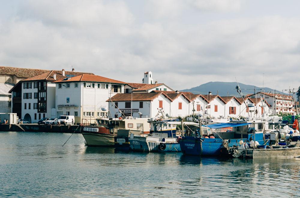 basque country south west saint jean de luz harbour
