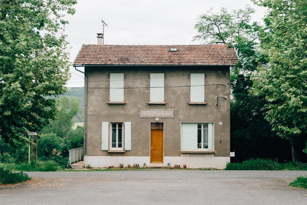 occitanie tarn post office old vindrac