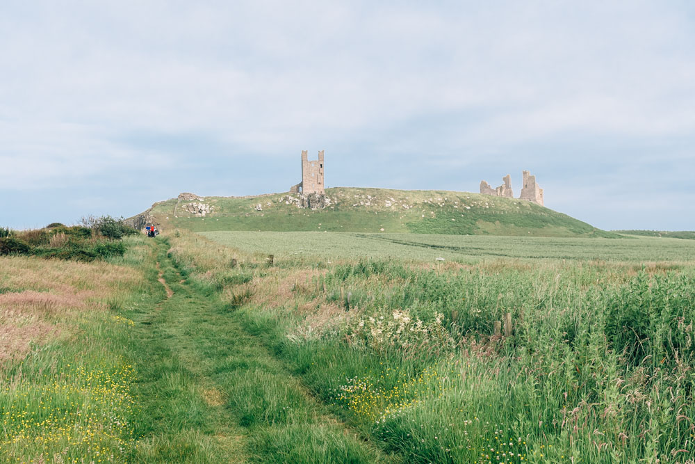 Northumberland, Dunstanburgh Castle