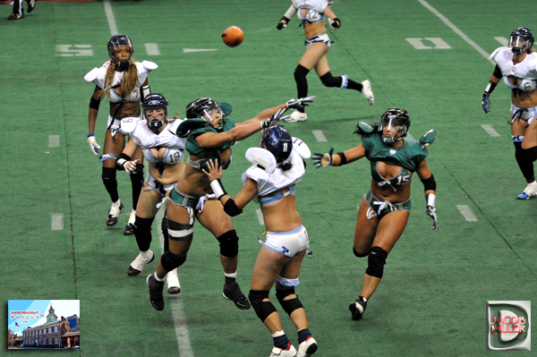 The Passion celebrated their record setting night and undefeated season on  the LFL ... 8f1c12748