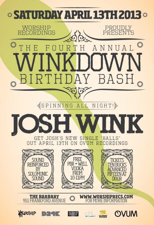 Wink Down