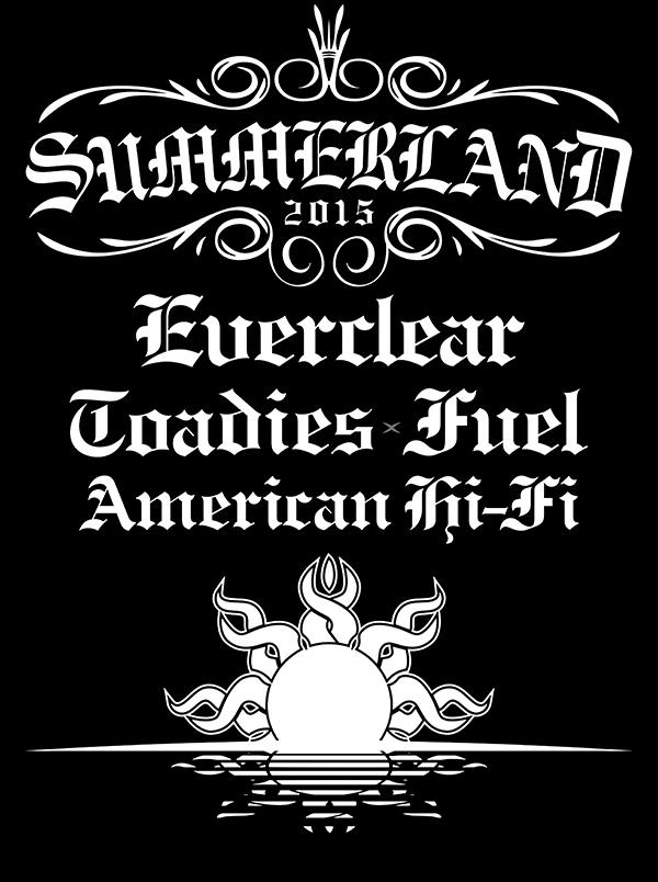 Summerland 2015 North American Tour