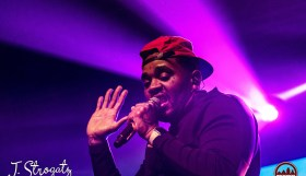 Kevin Gates performing at Franklin Music Hall in Philadelphia October 20, 2019