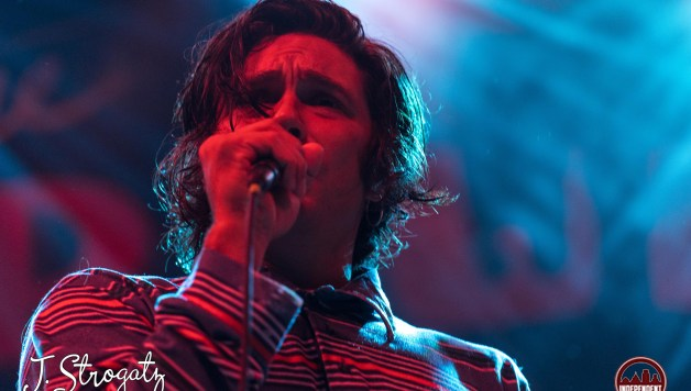 brooks Nelson from the growlers performing at Union Transfer in Philadelphia