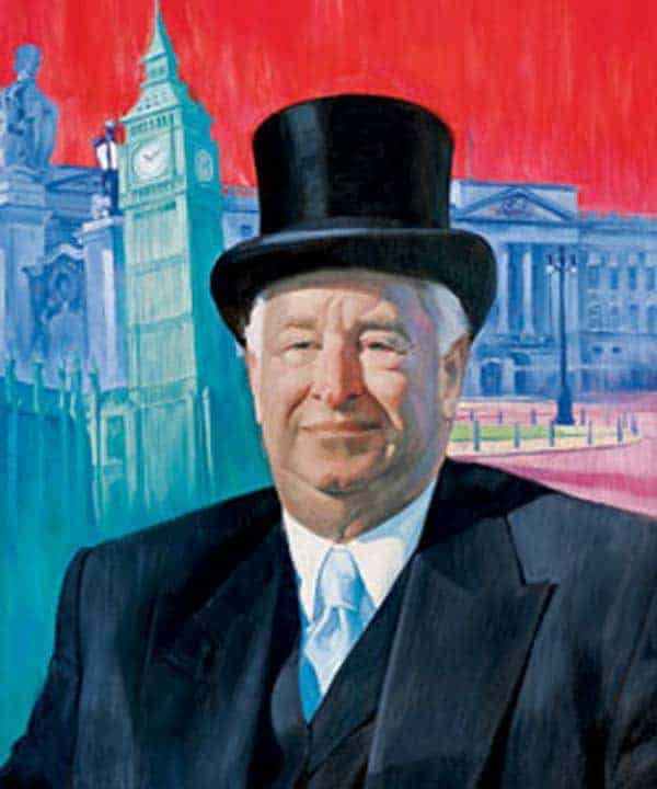 Louis Sussman - a nice top hat and $50K gets you an ambassadorship to Britain.