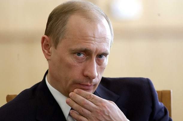 Russian President Vladimir Putin in a file photo.