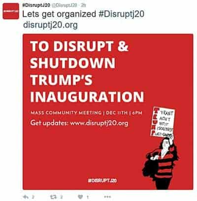 Disrupt120 poster
