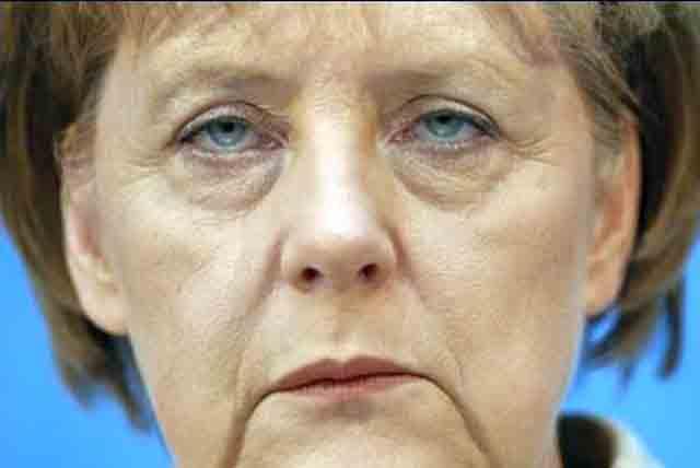 Angela Merkel Mundwinkel