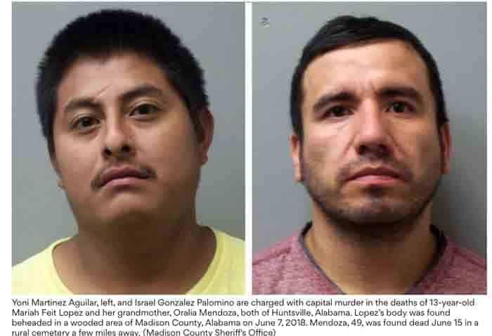 Illegal Alien Cartel Members Behead a Little Girl