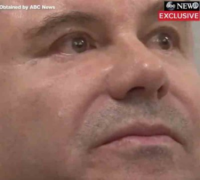 Murderous Drug Kingpin El Chapo in Tears After Conviction