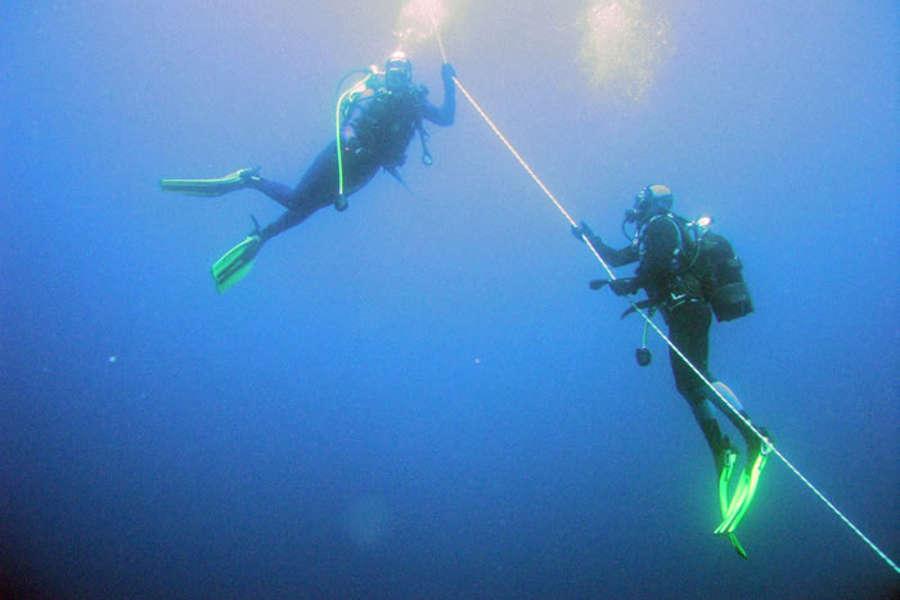 Diving romantico