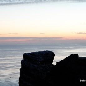 abends auf Helgoland
