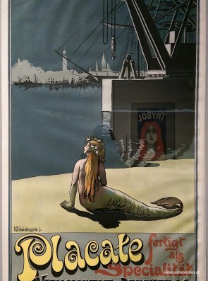 Plakat aus Hamburg