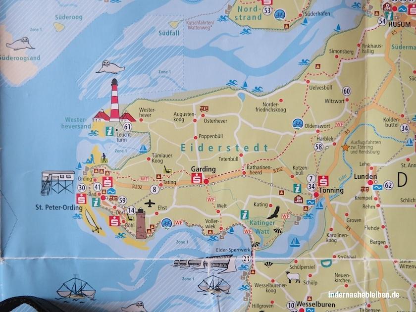 Karte Eiderstedt