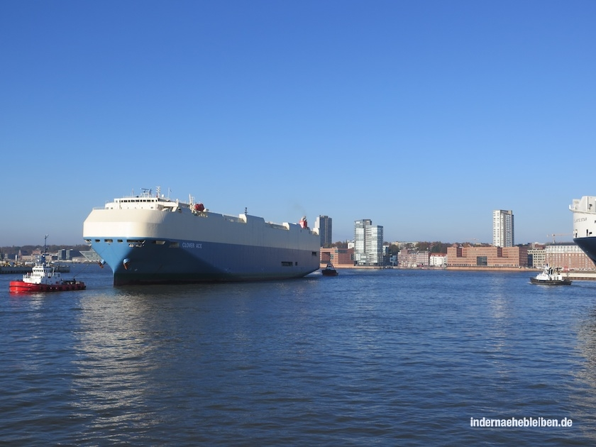 Container Schiff