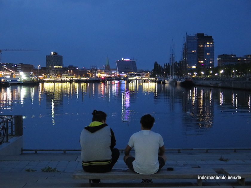 Kiel by night