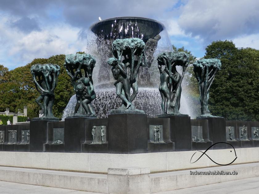 Brunnen Vigeland