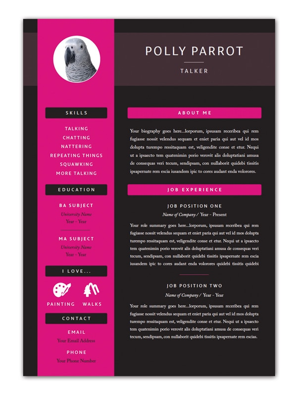 indesign free templates