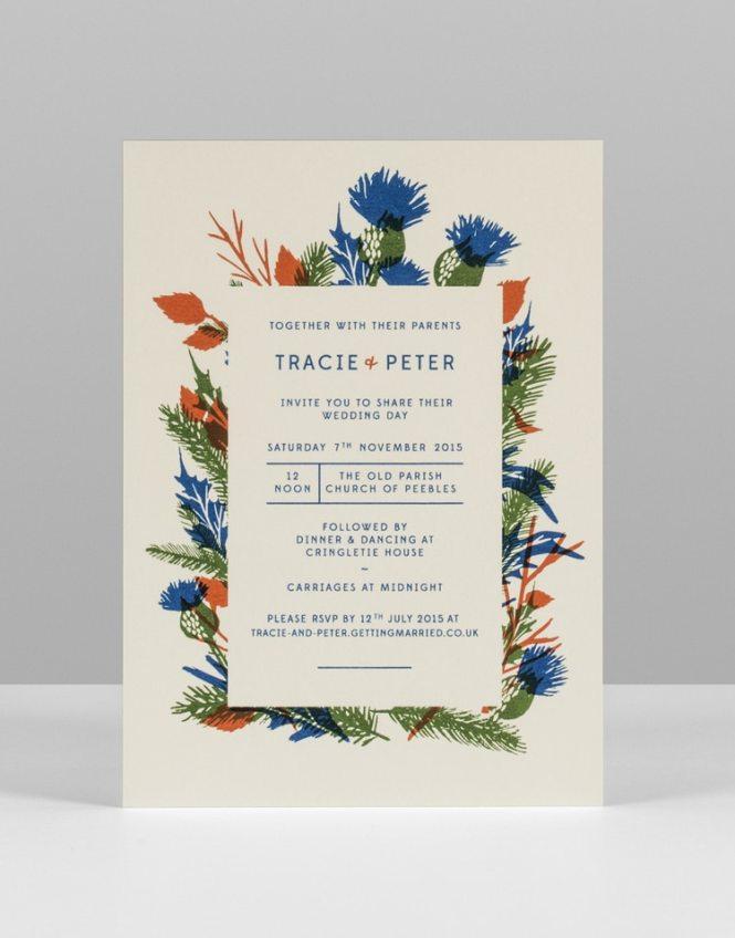 Bespoke Personalised Wedding Stationery