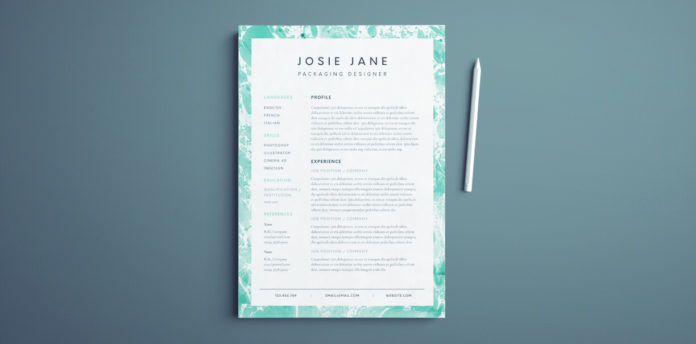 Creative Resume Template   Free InDesign Templates creative resume template for indesign   free resume layout template