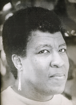 A Close up headshot of Octavia Butler