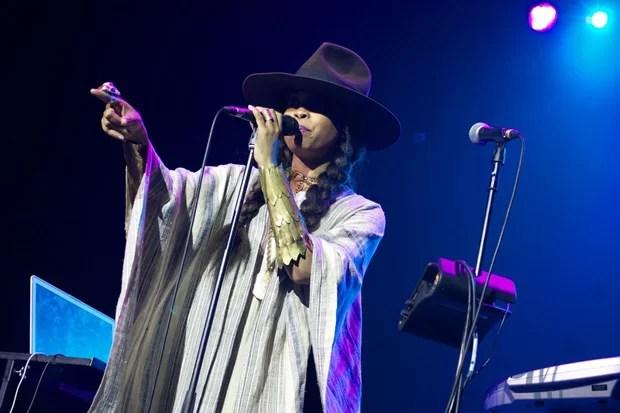 Erykah Badu peforming at the O2 Academy Brixton in 2011 (Image: SANPA Anne/Demotix)