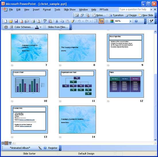 Image result for Slide Sorter View 2003