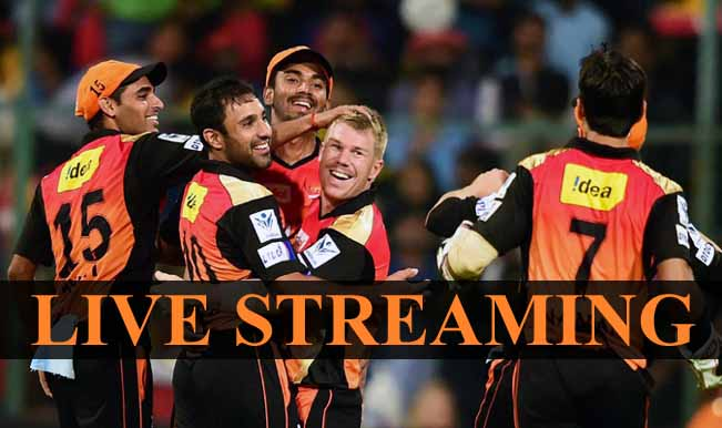 Sunrisers Hyderabad vs Royal Challengers Bangalore, IPL ...