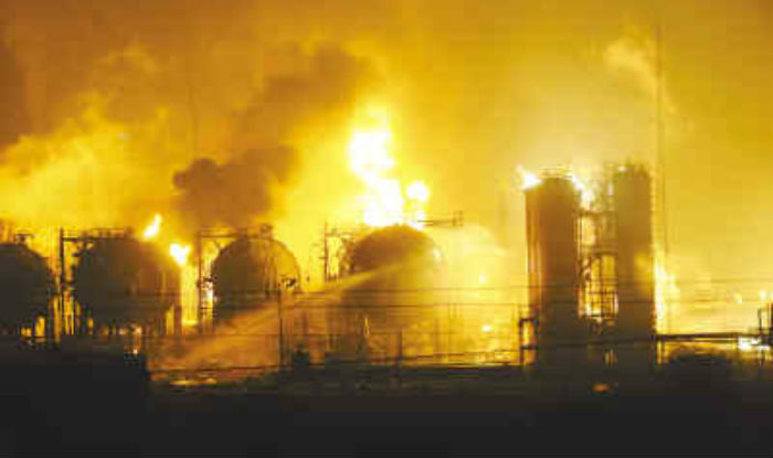 Seven Workers Were Injured In An Explosion At A Chemical