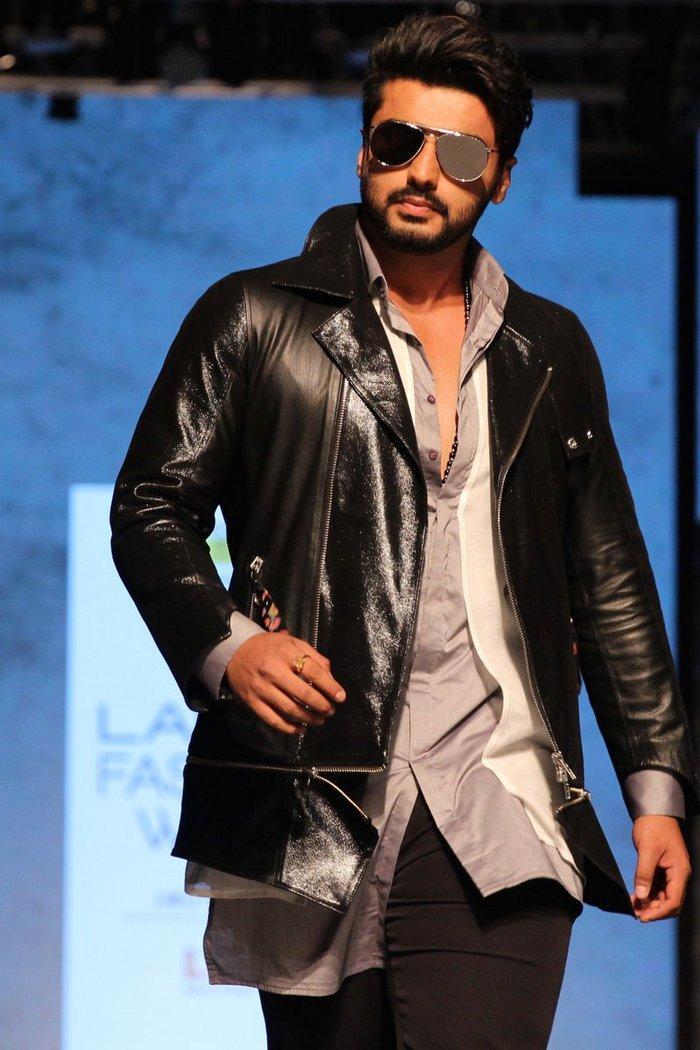 Image result for arjun kapoor leather jacket