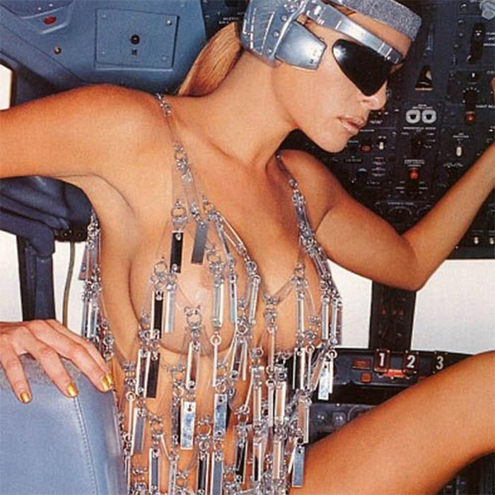 Image result for melania trump naked airplane