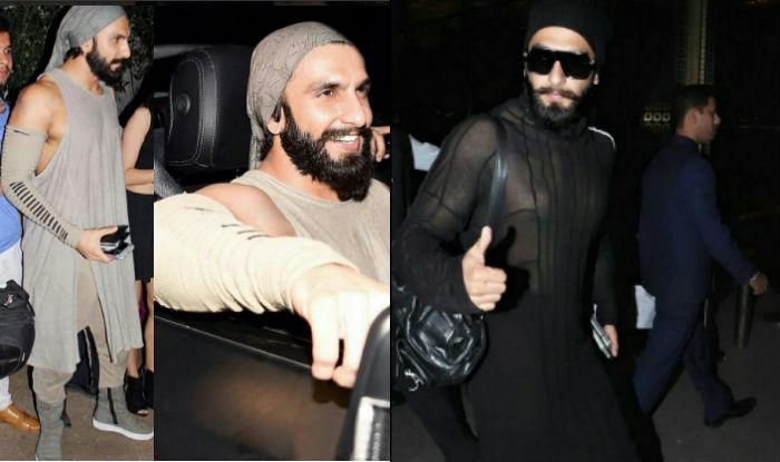 Is Padmavati Star Ranveer Singh Dressing Up Like A Dodo To
