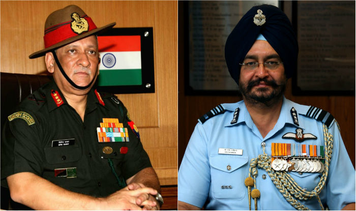 Lt General Bipin Rawat to be next Indian Army chief; Air Marshal BS ...