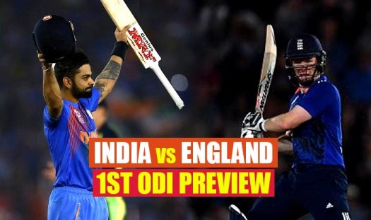 India vs England 1st ODI 2017 Match Preview: Hosts seek ...