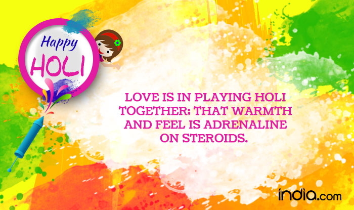 Image Result For Happy Holi Quotes Images Wishes Sms