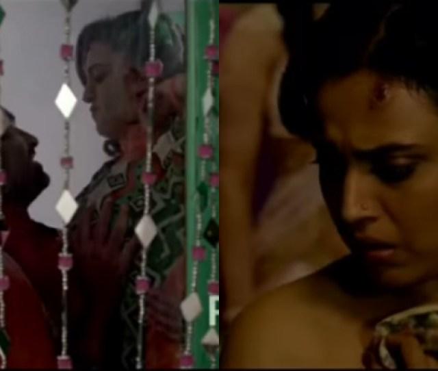 Swara Bhaskars Anaarkali Of Aarah Deleted Sex Scene Leaked Actress Naked Groped In The Viral Video From Movie