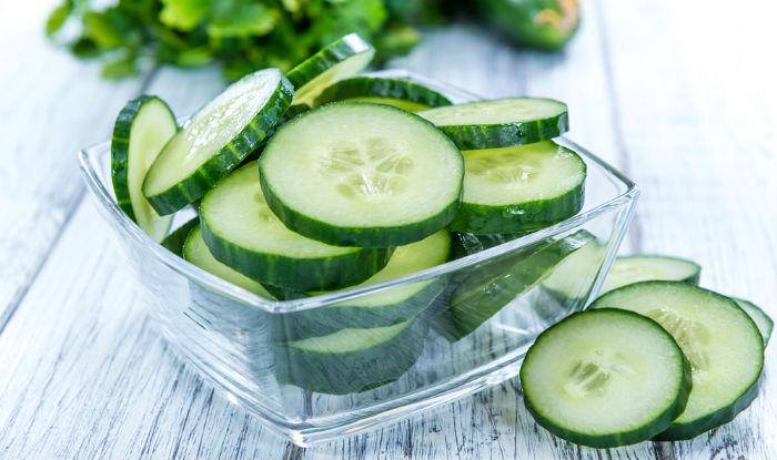 Cucumber fairness face pack
