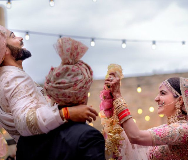 Anushka Sharma Virat Kohli Wedding These Intimate Moments Between The Newly Married Couple Will