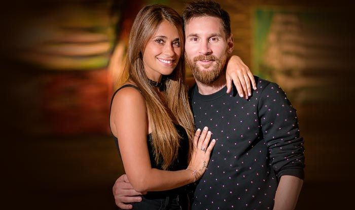 Lionel Messis Wife Antonella Roccuzzo Post Adorable Message On His Birthday Check Out Buzz